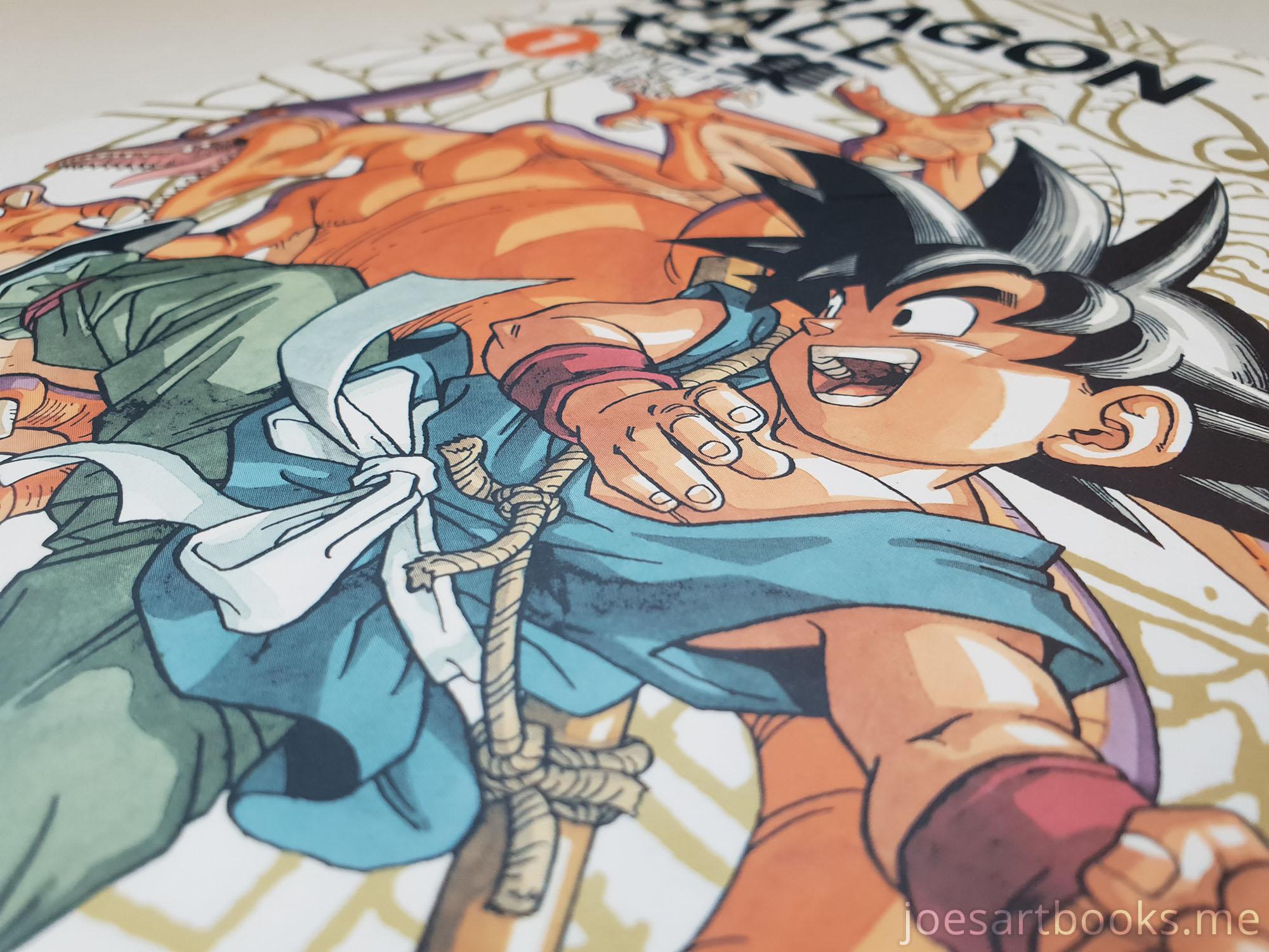 Dragon Ball Complete Illustrations Review Joe S Art Books