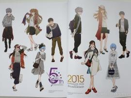 artbook, art,book, work, evangelion, hideaki, anno, neon, genesiss, netflix, anime, manga, shinji, asuka, rei, misato, mecha, godzilla, illustrations