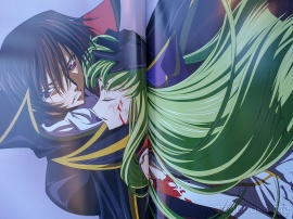 review, art, book, art book, artbook, joesartbooks, joe, illustrations, artwork, joe's art books, manga, anime, コードギアス 反逆のルルーシュ, code geass, lelouch, rebels, illustrations, illustrations rebels, cc, karen, mecha, Takahiro Kimura