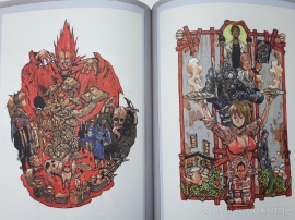 dorohedoro, art, book, artbook, illustration, official, review, joesartbooks, Hayashida Q, Caiman, Kaiman, Nikaido, Mud, Sludge, ドロヘドロ