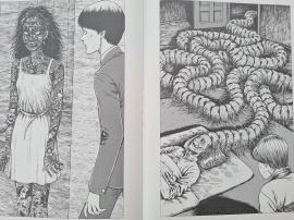 junji, ito, art, book, artbook, illustrations, twisted visions, viz, anime, manga, uzumaki, tomie, horror