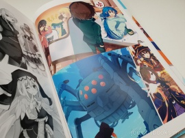 review, art, book, art book, artbook, joesartbooks, joe, illustrations, artwork, joe's art books, manga, anime, konosuba, aqua, megumin, darkness, comedy, Kono Subarashii Sekai ni Shukufuku wo, Akatsuki Natsume, Mishima Kurone, この素晴らしい世界に祝福を