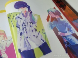 review, art, book, art book, artbook, joesartbooks, joe, illustrations, artwork, joe's art books, manga, anime, tokyo ghoul, Tokyo Kushu, 東京喰種, zakki, re, Ishida Sui, mangaka, kaneki, touka, ghouls