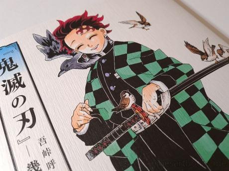 demon slayer, Kimetsu no Yaiba, Koyoharu Gotouge, Gotouge, art, book, artwork, manga, Tanjirou, Nezuko