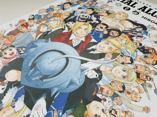review, art, book, art book, artbook, joesartbooks, joe, illustrations, artwork, joe's art books, manga, anime, fullmetal, alchemist, edward, shounen, arakawa hiromu