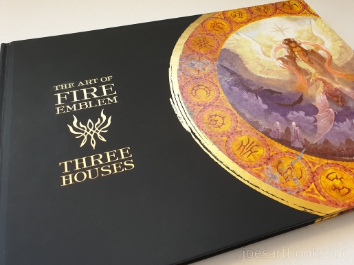 review, art, book, art book, artbook, joesartbooks, joe, illustrations, artwork, joe's art books, manga, anime, fire emblem, Chinatsu Kurahana, three houses, nintendo